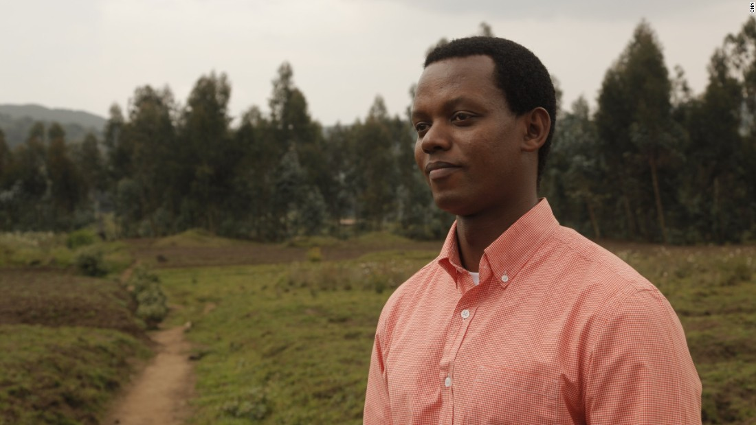 The conservationist grew up in Uganda after his parents fled Rwanda as refugees. <br />His father traveled to other countries in search of work, leaving his mother to raise him and his four siblings. In 1995, his family reunited in Rwanda where a trip to the Volcanoes National Park would change everything.