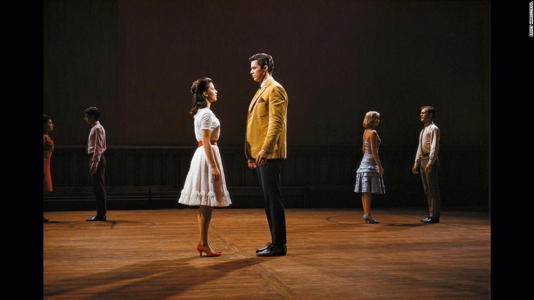 "Natalie Wood and Richard Beymer in 1961's ""West Side Story"""