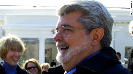 """Star Wars"" creator George Lucas."