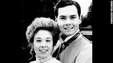 Megan Follows and Jonathan Crombie in 1987 sequel.