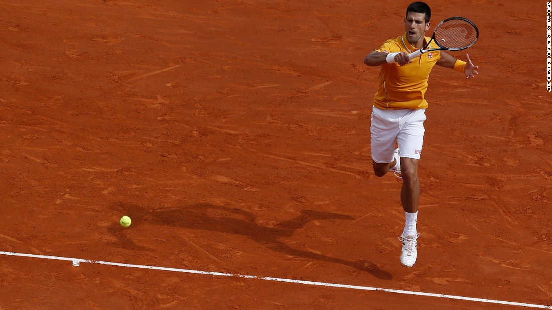 Novak Djokovic faced off against Rafael Nadal in the semifinals of the Monte Carlo Masters Saturday.