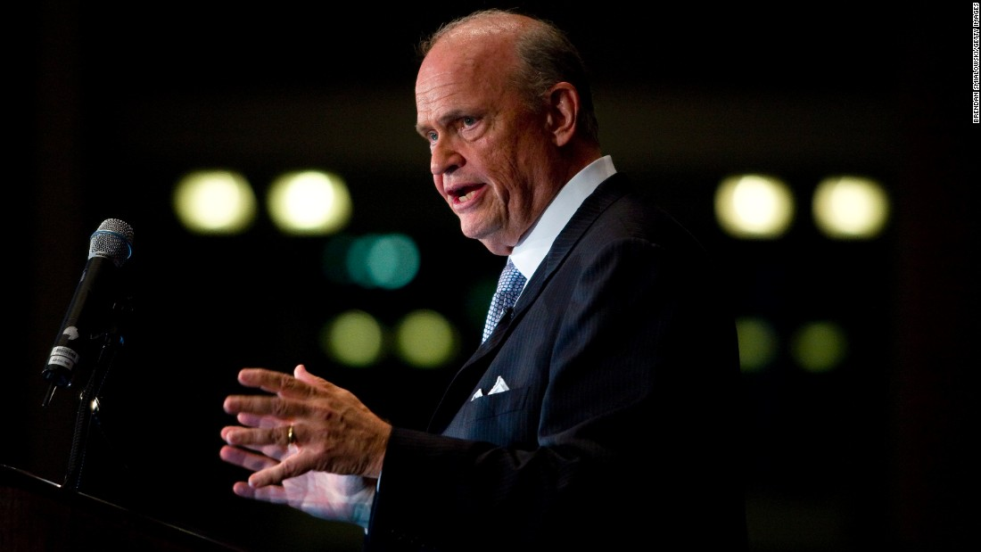 "<a href=""http://www.cnn.com/2015/11/01/us/fred-thompson-dies-tennessee/index.html"" target=""_blank"">Fred Thompson</a>, a former actor and U.S. senator for Tennessee, died on November 1. He was 73. Thompson, a Republican, campaigned briefly for president in the 2008 election."