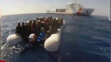 Hundreds feared dead after migrant boat capsizes
