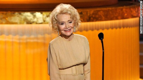 Actress Agnes Nixon speaks onstage at the 37th Annual Daytime Entertainment Emmy Awards held at the Las Vegas Hilton in 2010 in Las Vegas, Nevada.