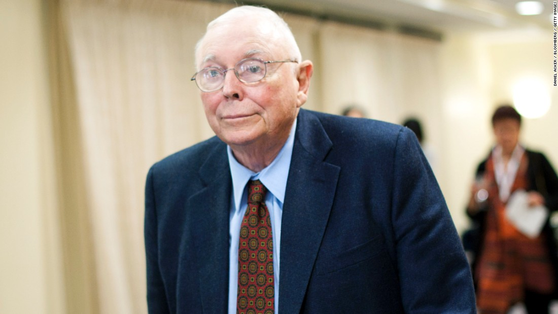 Charlie Munger Fast Facts