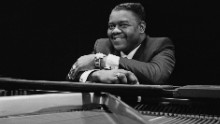 American pianist and singer-songwriter Fats Domino, 27th March 1967. (Photo by Clive Limpkin/Daily Express/Hulton Archive/Getty Images)