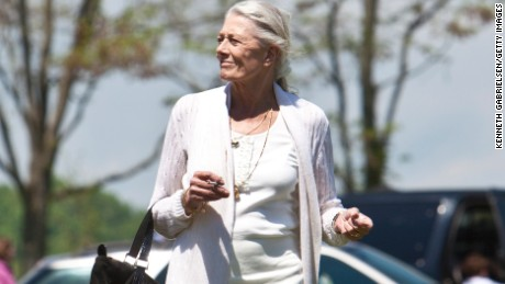 Vanessa Redgrave attends the funeral services for actress Lynn Redgrave at St. Peter's Cemetery on May 8, 2010 in Lithgow, New York.