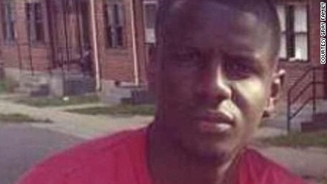 Family of Freddie Gray gave CNN picture of Freddie Gray-- man killed in MD