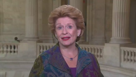 Senator Debbie Stabenow attorney general human trafficking loretta lynch_00003927.jpg