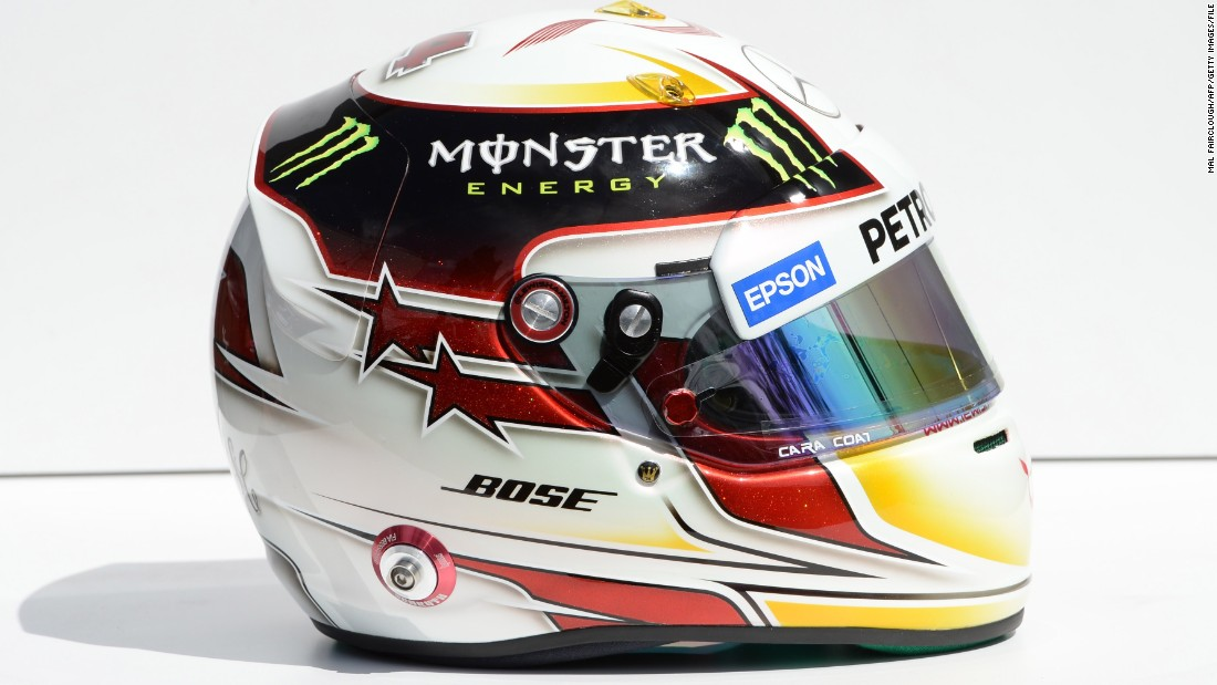 lewis hamilton 39 s 1000 custom helmets. Black Bedroom Furniture Sets. Home Design Ideas