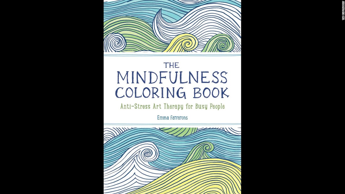"""<a href=""http://www.amazon.com/Mindfulness-Coloring-Book-Anti-Stress-Therapy/dp/1615192824/ref=sr_1_1?s=books&ie=UTF8&qid=1429564017&sr=1-1&keywords=mindfulness+coloring+book+emma"" target=""_blank"">The Mindfulness Colouring Book</a>: Anti-stress art therapy for busy people"" by Emma Farrarons is high on the Amazon UK bestselling books list."