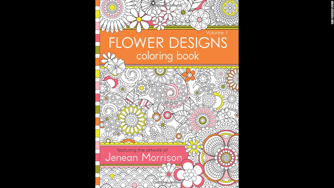 Intricate Designs Are A Hallmark Of Adult Coloring Books