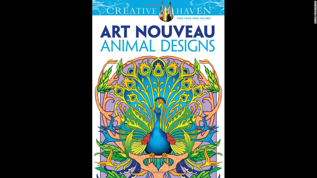 "Design-minded grownups can find many fine-art and design-themed coloring books to satisfy their inner creative.<a href=""http://www.amazon.com/Creative-Nouveau-Animal-Designs-Coloring/dp/0486493105/ref=sr_1_1?s=books&ie=UTF8&qid=1429573309&sr=1-1&keywords=%22Dover+Creative+Haven+Art+Nouveau+Animal+Designs+Coloring+Book"" target=""_blank""> ""Dover Creative Haven Art Nouveau Animal Designs Coloring Book</a>"" by Marty Noble and Creative Haven is one title."