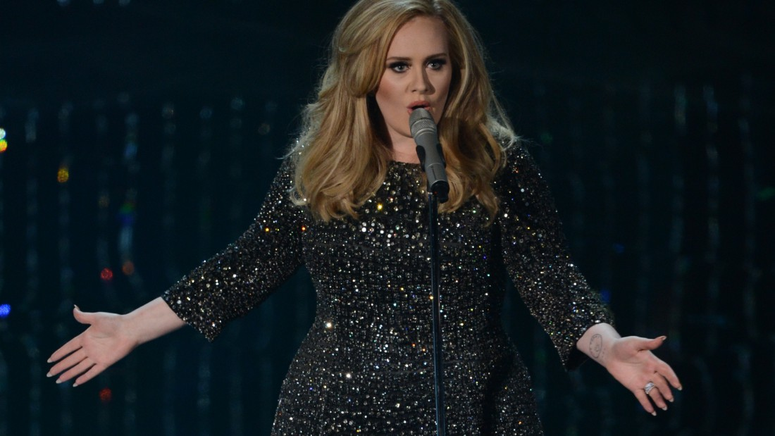 Singer Adele performs onstage at the 85th Annual Academy Awards on February 24, 2013 in Hollywood, California. Adele also played early gigs at Madame Jojos.