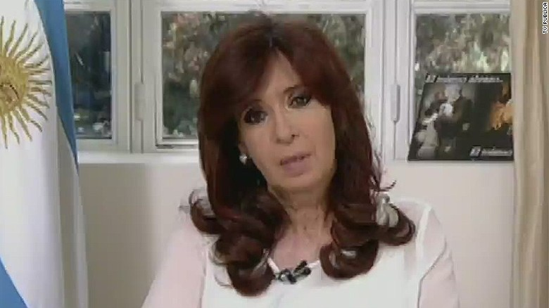 Case against Argentine President dismissed