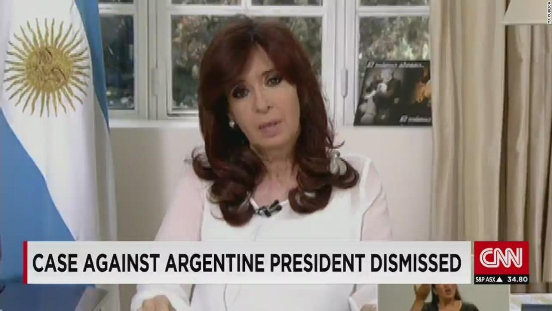 In Argentina, prosecutor drops allegations against President Kirchner