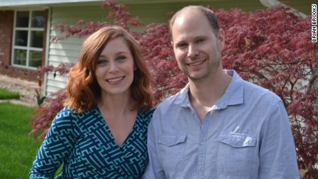 Justine Brooks Froelker and her husband, Chad Froelker, decided adoption wasn't right for their family.