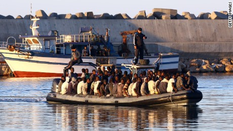 Why migrants attempt desperate journey