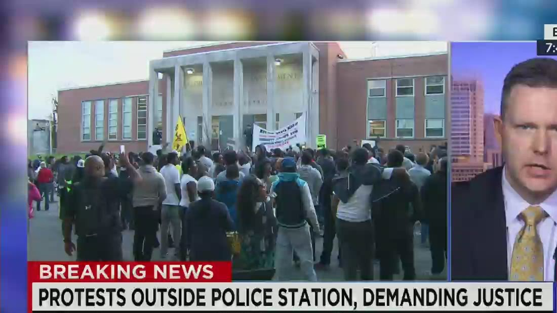 Baltimore Police to Protesters: 'We hear you'