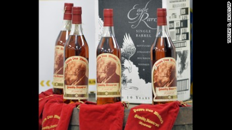 Pappy Van Winkle is one of the rarest and most expensive bourbons in the world.