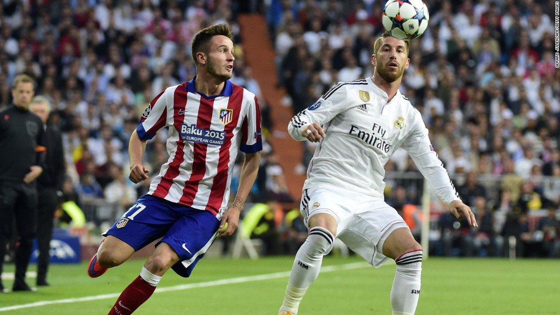 Sergio Ramos was pushed into midfield for Real in place of the injured Luka Modric. Real was also without Karim Benzema and Gareth Bale with both men nursing injuries.