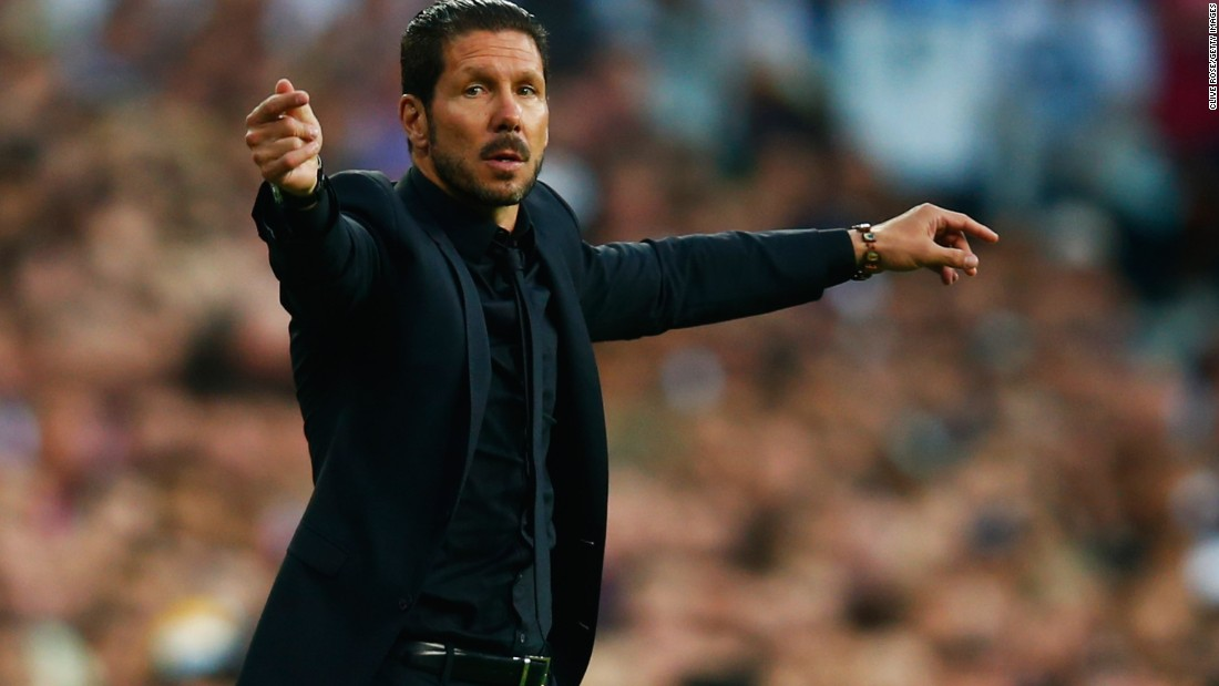 Diego Simeone, the Atletico Madrid manager, led his team to the Champions League final last season where it was beaten 4-1 by Real Madrid. His attempt to return to the final fell short this time after Arda Turan was sent off.