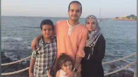 American plans escape for his family in Yemen