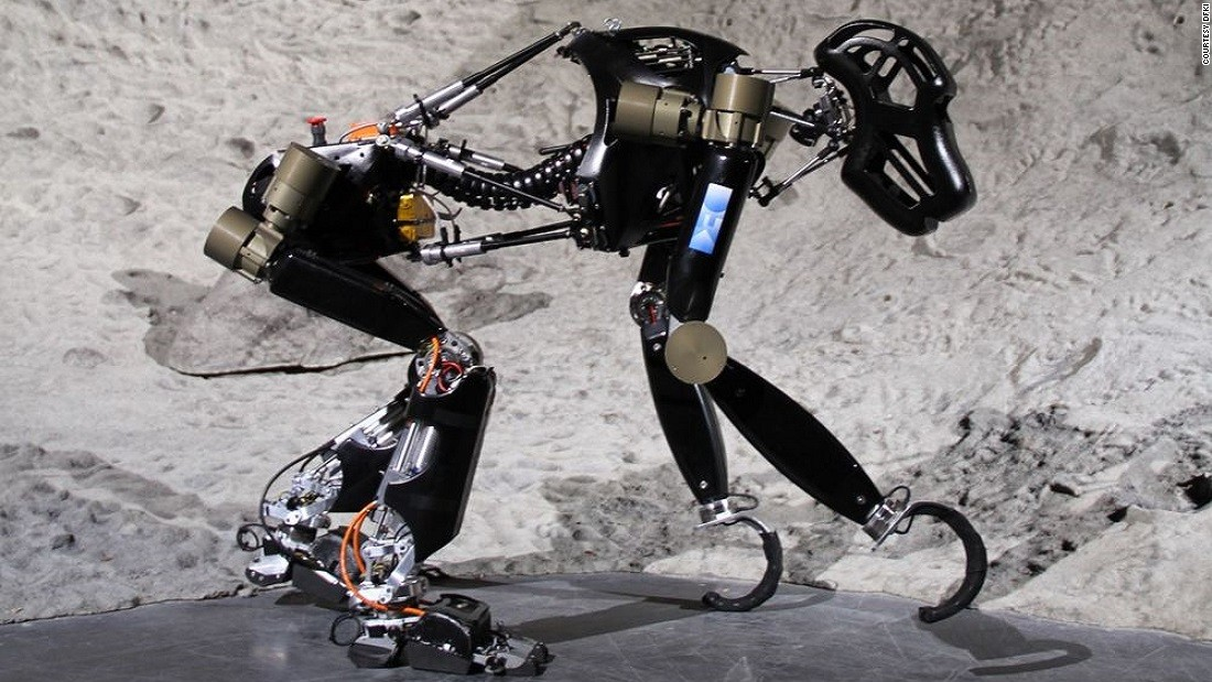 This robotic chimp could one day roam the moon
