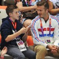 david beckham sons london 2012