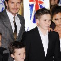 david beckham family spice girls musical 2012