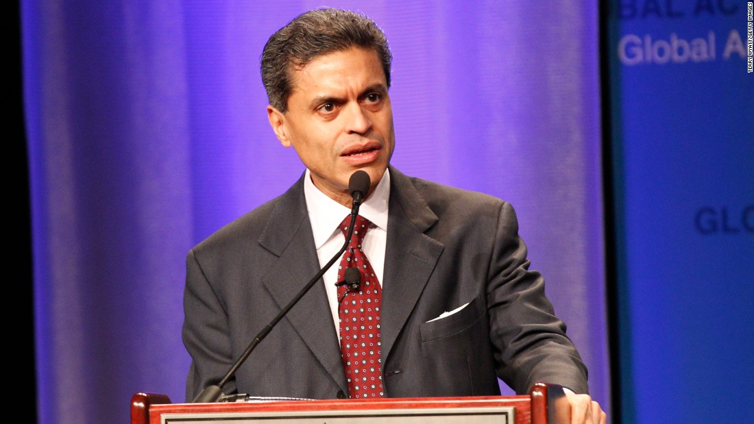 "Fareed Zakaria, host of ""GPS"" on CNN, will address graduates of Macaulay Honors College at the City University of New York on June 2."