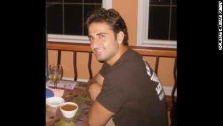 Amir Hekmati is shown in a photo provided by his family.