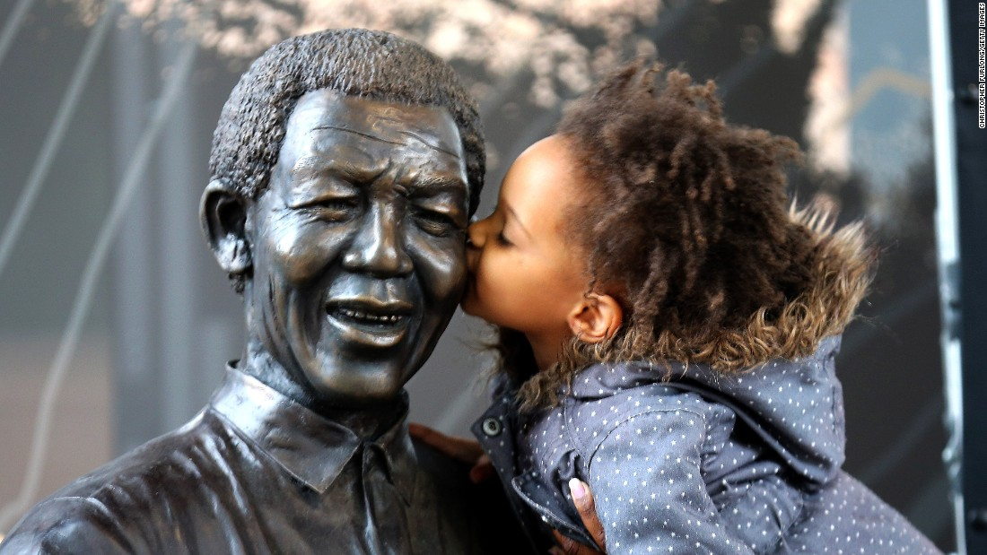 After suffering poor health for some time, Mandela eventually succumbs to a lung infection on December 5, aged 95. After a memorial service held at Johannesburg's Soccer City stadium -- attended by many world leaders and celebrities -- Mandela is buried in his childhood village of Qunu on December 15.