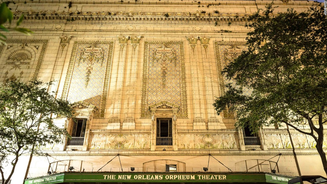 The beautiful beaux arts building, dating to 1918, was shuttered post Katrina, but is currently undergoing a $13 million renovation in order to restore it to its former glory. Reopening this fall.