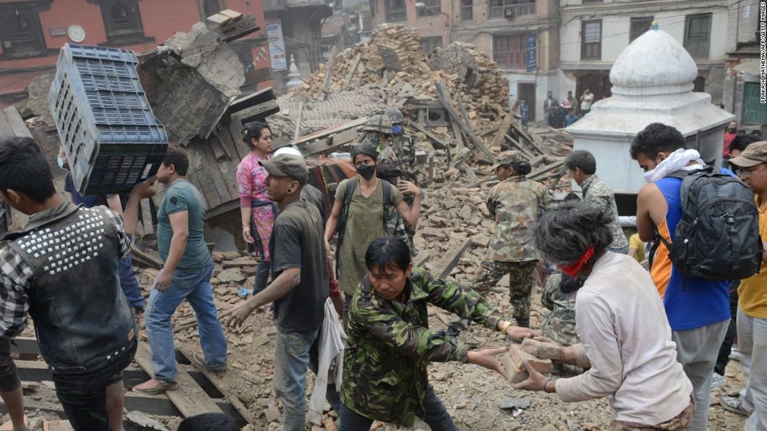 Earthquake slams Nepal; devastating loss of people, history