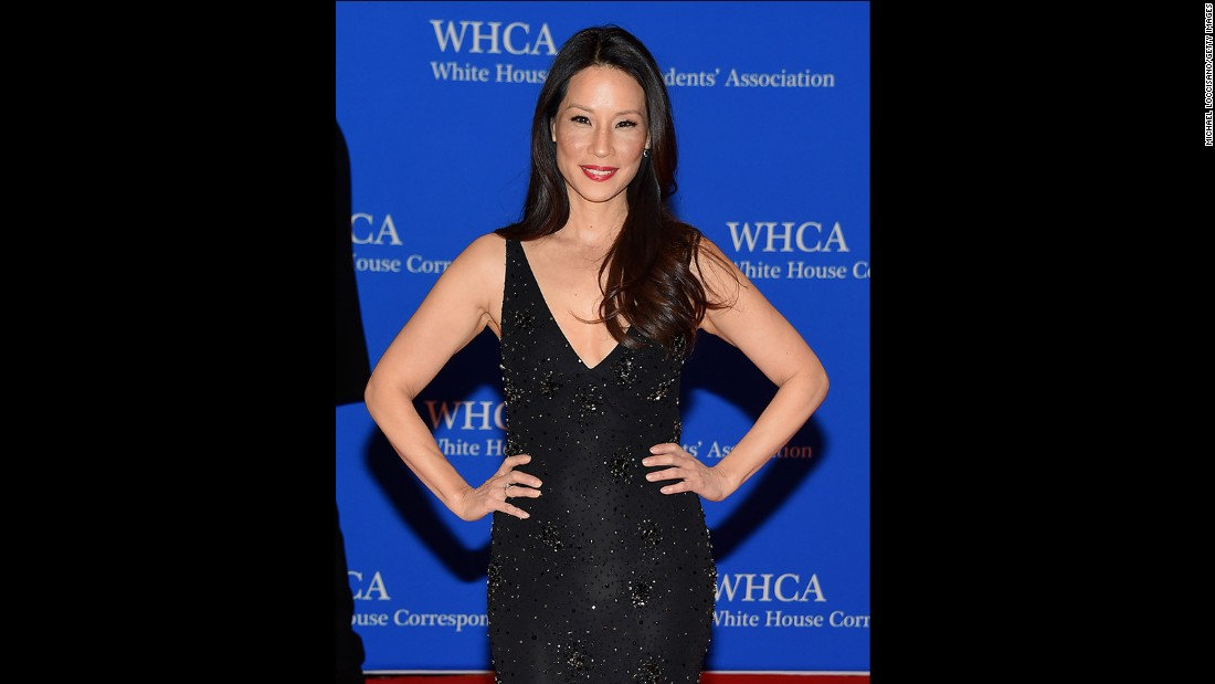 Lucy Liu attends the 101st Annual White House Correspondents' Association Dinner at the Washington Hilton on April 25, 2015 in Washington, D.C.