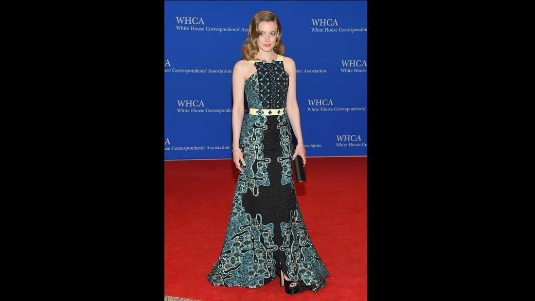 Gillian Jacobs attends the 101st Annual White House Correspondents' Association Dinner at the Washington Hilton on April 25, 2015 in Washington, D.C.