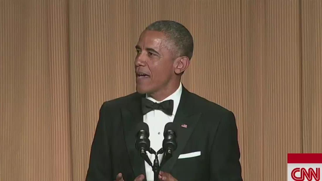 2015 White House Correspondents' Dinner: Barack Obama's top 10 jokes