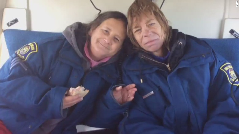 Missing women found after 2 weeks in wild