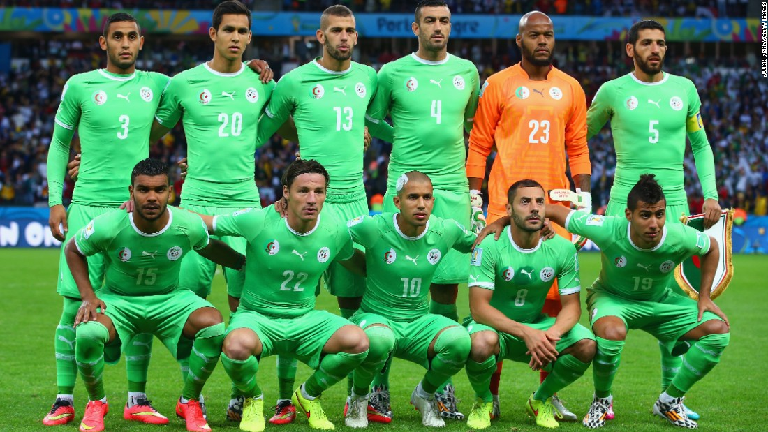 Algeria's national team is one of the strongest in Africa and is currently ranked ranked 21st in FIFA's world rankings. Despite being one of the favorites for this year's Africa Cup of Nations, it crashed out in the quarterfinals.