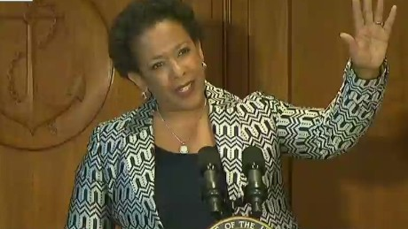 Loretta Lynch sworn in as attorney general.