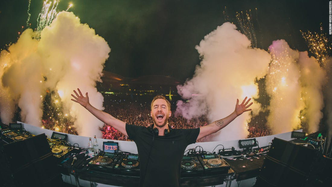 McDonnell has just returned from tour with superstar DJ Calvin Harris. He previously captured this picture in Sydney, Australia last year.