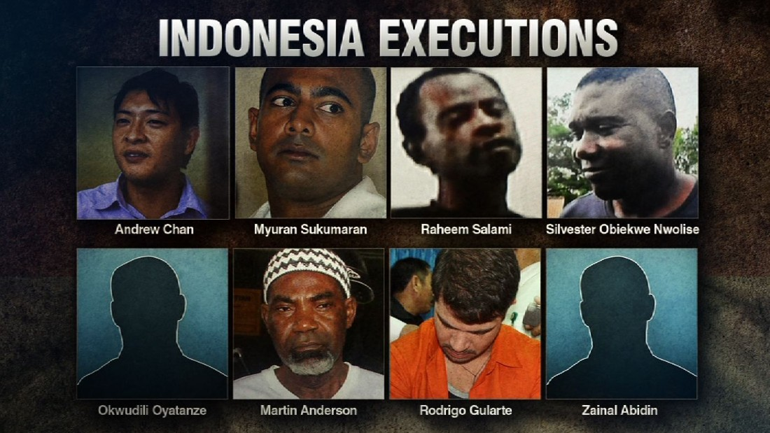 Australia recalls ambassador after Indonesia executes prisoners