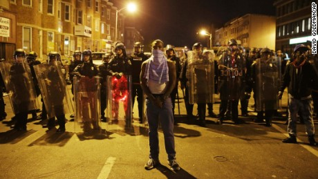 Baltimore mayor: Curfew could end early