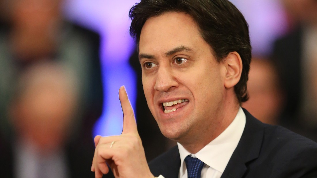 Ed Miliband is the leader of the Labour Party and the opposition leader in Parliament.
