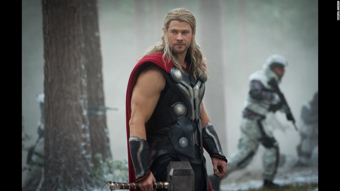 Chris Hemsworth is now making his fourth appearance as the Norse god.