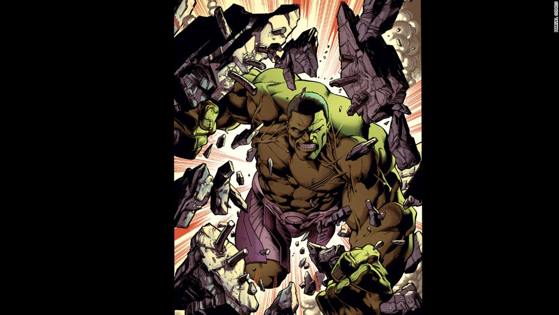 The Hulk is one of Marvel's best-known characters.