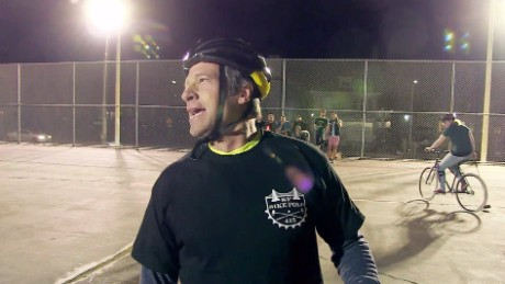 """Somebody's Gotta Do It"": Bike polo"
