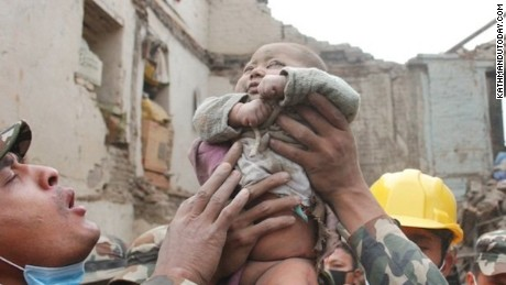 Nepali soldiers had given up their search on Saturday night but returned when Sonies' father heard cries.