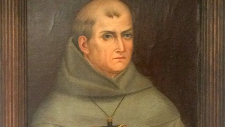 The second copy in the world of the only portrait picture of Junipero Serra. Painted in Mexico given based on a description of Junipero Serra painted by Father José Mosqueda.